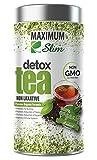 Maximum Slim Detox Tea di Best Premium Slim Ming Tea On Amazon–boosts metabolism, reduces bloating and improves Complexion–100% naturale, Delicious Taste