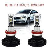 H8 H9 H11 H16JP Led Headlight Bulbs CANBUS ERROR FREE...