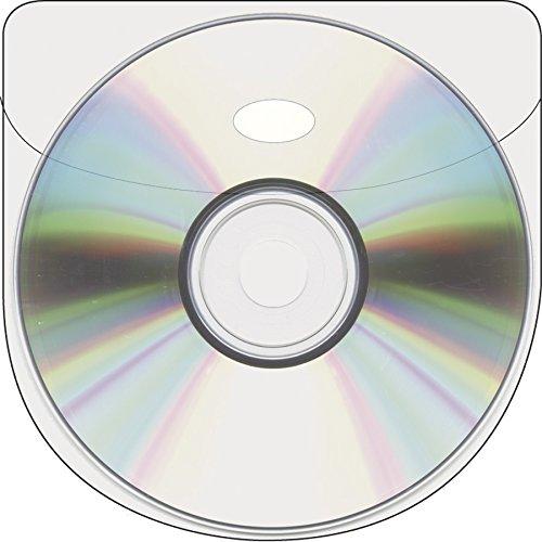 b.n.t. Scandinavia B.V CD tasca con linguetta per chiusura, 100pezzi