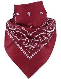 a23e9215b1cdd5 Harrys-Collection Bandana Bindetuch 100% Baumwolle (1 er 6 er oder 12 er