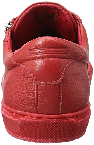 Tommy Hilfiger L2385oop 1a, Sneakers Basses Homme Rouge (Tango Red 611)