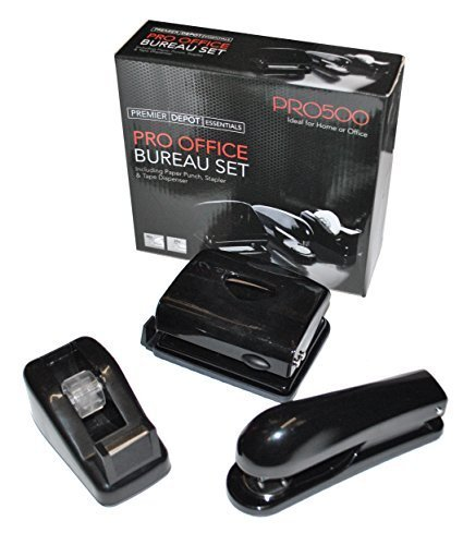 T inc. Stapler, Hole Punch & Tape Dispenser by Mulberry (Punch Dispenser)