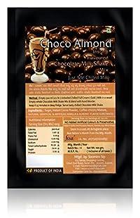 Soomiro Sip Choco Almond Flavoured Chocolate Milk Shake Mix, 100 grams