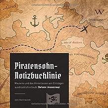 Piratensohn-Notizbuchlinie: Meuterei und das Hinterlassen von Einträgen ausdrücklich erlaubt (Variante: treasuremap)