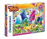 Clementoni- Leopard Trolls Supercolor Puzzle, Multicolore, 104 Pezzi, 27967