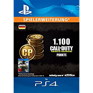 Call of Duty: Infinite Warfare 1100 Points Edition [PS4 Download Code – deutsches Konto]