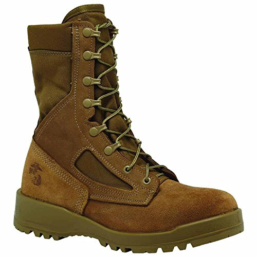 Belleville Mens 550 St USMC Hot Weather Steel Toe Boot (EGA) Olive Green