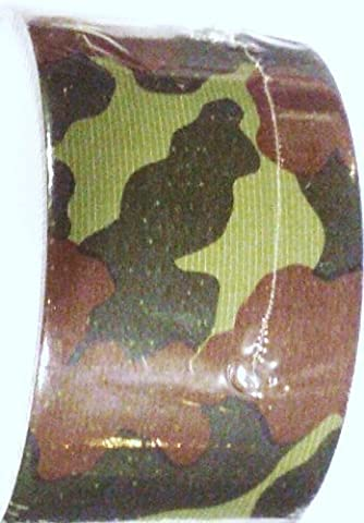 CAMO DUCT TAPE, Woodland Pattern - Camouflage by TAPE-IT, INC.