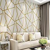 DACHENZI Metallic Geometric Tapete Für Wände Rollen Modernes Design Wand Papier Home Decor Schlafzimmer Wohnzimmer Flur Wandverkleidungen