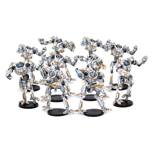 Dreadball Chromium Chargers Robot Team (10 Players)