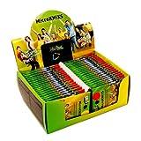 KNIXS 40er Display Mini-Knicklichter inkl. Verbinder   40 x 2 Stück, ideal als Bissanzeiger, seit...