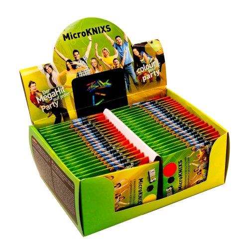 KNIXS 40er Display Mini-Knicklichter inkl. Verbinder | 40 x 2 Stück, ideal als Bissanzeiger, seit 10 Jahren in Profiqualität, deutsche Testnote: 1,6 | im 6 Farb-Mix