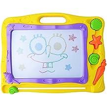 Pootack Ardoise magique tableau de dessin magnétique coloré, carnet de croquis dessin effaçable aimant pour bébés enfants - Jouet éducatif - Mégasketcher