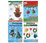 Stelle deinen Kinder Spielzeug Adventskalender selber zusammen Spielsachen Mädchen Junge Einzelne Kleine Spielware Paket (Craft Set Basteln 1 v 4)