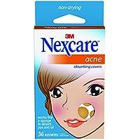 Nexcare Parches absorbente para el acné, 2 tamaños, ...