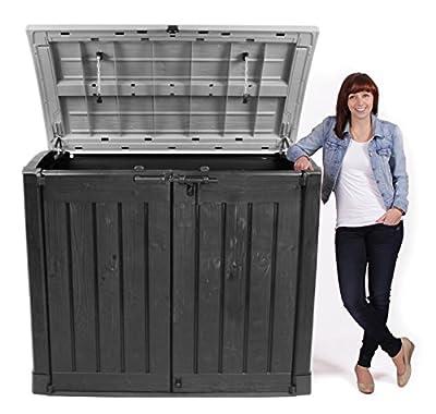 Keter Gartengerätebox Mülltonnenbox Store It Out Arc, anthrazit von Keter bei Du und dein Garten
