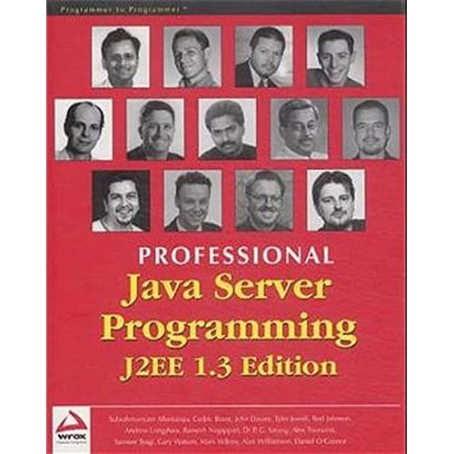 Professional Java Server Programming. J2EE 1.3 Edition