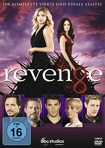 Revenge - Die komplette vierte Staffel [6 DVDs] (Madeline Dvd)