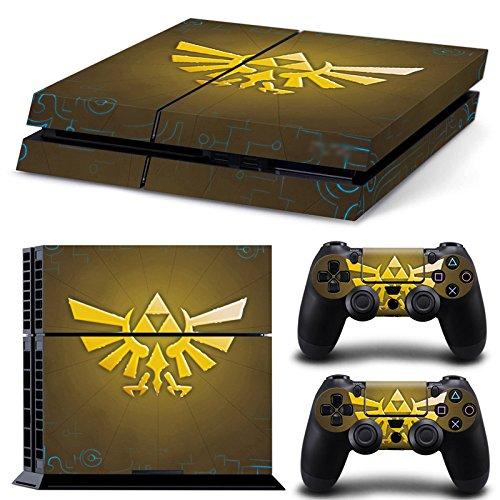 GameCheers PS4 Konsole and DualShock 4 Controller Skin Set - LINK - PlayStation 4 Vinyl VII 7