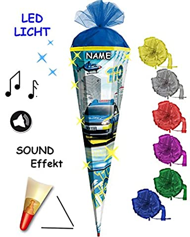 mit SOUND Modul & LED Licht Effekt ! - Schultüte -
