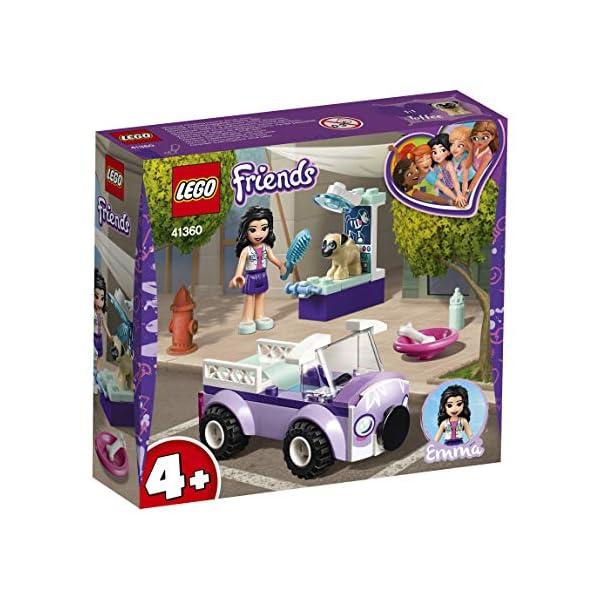 LEGO - Friends La clinica veterinaria mobile di Emma, con Mini-doll e Cane Inclusi, Kit Giocattolo per Bambini, Idea… 2 spesavip