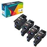 Do it Wiser � 4-Pack Compatible Toner Cartridges for Dell E525W