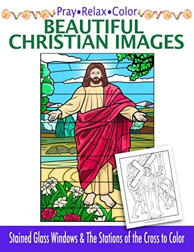 Pray • Relax • Color  Beautiful Christian Images: Stained for sale  Delivered anywhere in UK