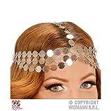 Lively Moments Kopfschmuck Metallplättchen für Kostüm Orient / Burgfräulein / Bauchtänzerin / Kopfbedeckung / Fasching