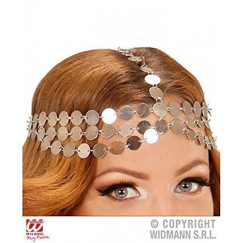 chmuck Metallplättchen für Kostüm Orient / Burgfräulein / Bauchtänzerin / Kopfbedeckung / Fasching (Ägyptischer Kopfschmuck Kostüm)