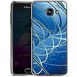 Samsung Galaxy A3 (2016) Housse Étui Protection Coque Cercles Anneaux Motif
