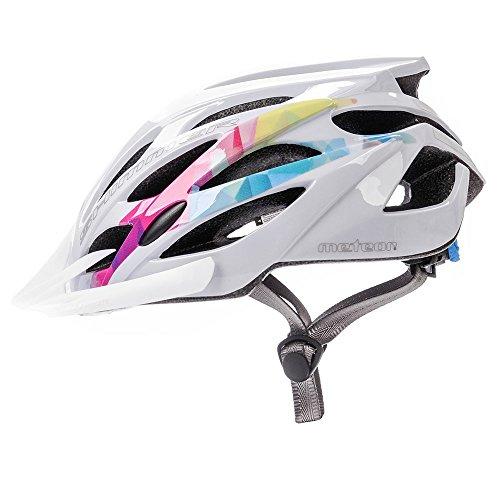 Meteor Casco Bicicleta Helmet Bici Ciclismo para Jóvenes y Adulto Bicicleta Patineta Skate Patines...