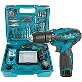Makita HP330DX100 10-8 volt Hammer Drill   100 Bits