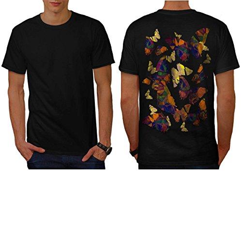 papillon-cubisme-art-punaise-homme-nouveau-noir-l-t-shirt-reverse-wellcoda
