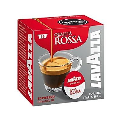 Lavazza A Modo Mio Rossa Coffee Capsules (1 Pack of 16)