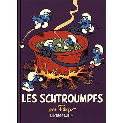 Les Schtroumpfs - L'intégrale - tome 4 - Les Schtroumpfs intégrale 1975-1988