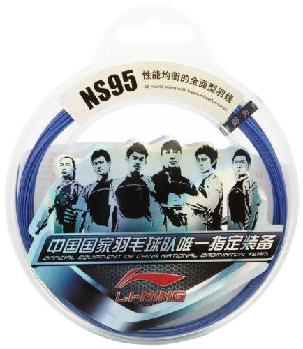 Li Ning NS95 Badmintonsaitenset Saite Bespannung Badminton Set 10 m (Blau)