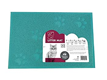 MPETS 20110309 Tapis pour Litière à Chat - Lot de 6