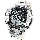 [Lad Weather] funzione cronometro/Pacer/100M resistenza all' acqua/mimetico/militare/sport/orologio