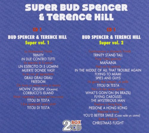 Super Bud Spencer & Terence Hill - Box 2cd