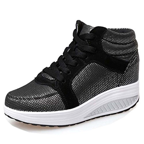 Solshine , chaussures compensées femme AAA