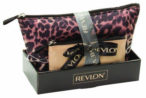 Revlon Cheetah 2 Pieces Tote