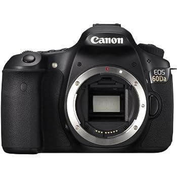 Canon EOS 60DA Body, 18 Megapixels, Colore: Nero