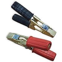 OC-PRO - Pinzas de arranque (latón, 300 A, 2 unidades)