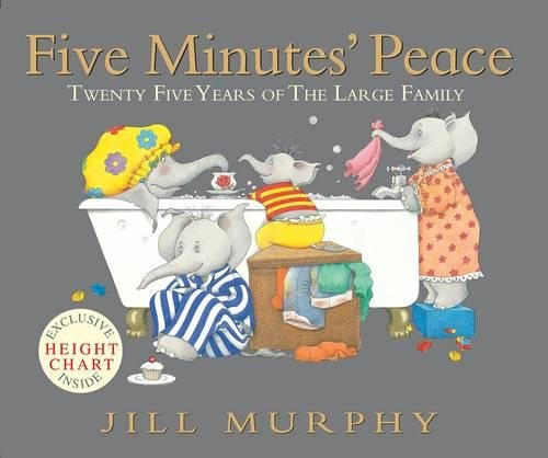 Five minutes' peace : twenty-five years of the Large family