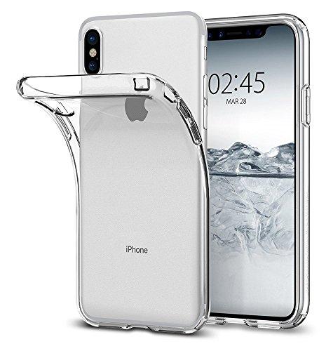 Coque iPhone X, ocketcase® Étui Housse en Silicone Souple Protecteur Shell Gel TPU Back Case pour Apple iPhone X (2017) - (papillon) + Gratuit stylet l'écran aléatoire universelle girafe