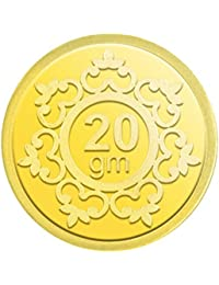 IBJA Gold 20 Gm, 24K (995) Yellow Gold Precious Coin
