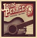 John Pearse 650 Jeu de cordes pour Guitare Bluegrass Phosphore Bronze