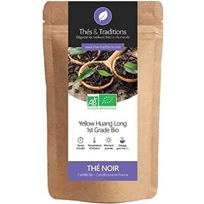 Thés & Traditions - Thé noir Bio Yellow Huang Long 1st Grade | 50g