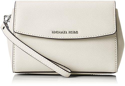 Michael KorsAva Medium - borsetta tipo pochette Donna , Grigio (Grau (cement Grey)), taglia unica