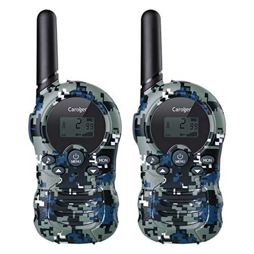 Gold Tarnung (Caroger PMR Funkgerät Walkie Talkies 8 Kanäle Walki Talki Funkhandy Interphone mit LC-Display Tarnung blau)